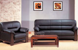 Софа мебели, самомоднейшая кожаный софа, софа установленное кожаный неподдельное Гуанчжоу (FS-08)