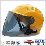 Холодный Shining серебряный половинный шлем лета стороны (HF318)
