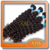 ブラジルの毛の織り方は加工されていない