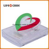 Distributeur médical de note de promotion de forme de coeur