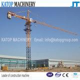 Double-Giration de la marque Qtz63-5013 de Katop une grue à tour pour des machines de construction