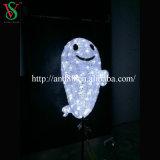 3D彫刻のモチーフの装飾的なライト