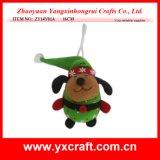 Artigianato di natale del cane di natale della decorazione di natale (ZY14Y01A 16CM)