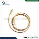 USB Type C aan USB 2.0 a/m Charing en de Kabel van de Overdracht met Omringde Vlecht en de Opvlammende Lente