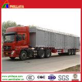 De barre latérale de frontière de sécurité de camion de cargaison en vrac de pieu remorque en acier semi