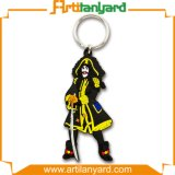 최신 판매 주문 연약한 PVC Keychain