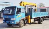 FAW 12 toneladas de guindaste montado caminhão