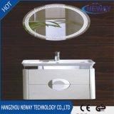 Governo di stanza da bagno impermeabile della parete all'ingrosso del PVC con lo specchio del LED