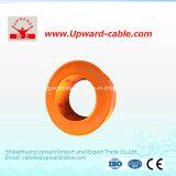 Fil électrique de cuivre isolé par PVC
