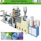 Твердая мягкая производственная линия листа/плиты PVC/машина делать