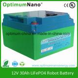 Oltre 2000 batterie a energia solare di memoria LiFePO4 di volte 12V 30ah