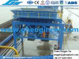 Entstauben Gummigummireifen-der mobilen Zufuhrbehälter-Kanal-Maschine