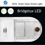lámpara solar del camino del área IP65 Bridgelux del sensor de 80W el 15m