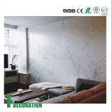 Feuille en plastique de marbre de Faux de feuille de vente de PVC de marbre de marbre chaud de feuille