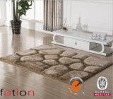 Couvertures 100% antidérapage de la région 3D de tapis Shaggy de polyester de contemporain