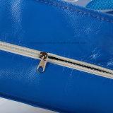 Grand sac non tissé stratifié estampé de mémoire avec la tirette
