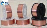 二酸化炭素の銅の上塗を施してあるミグ溶接ワイヤー(AWS ER70S-6)