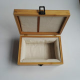 Alta qualità di lusso che vernicia il contenitore di monili di legno di rivestimento