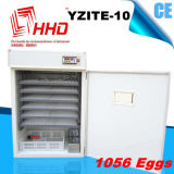 Hhd 1000の卵の販売Yzite-10のための自動鶏の卵の定温器
