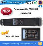 Fp20000q力Ampliiferの高い発電の段階のスピーカーの電力増幅器、二重電源のボード、2200W*4アンプ