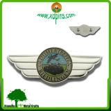 Le métal fait sur commande ouvre Pin d'aile et insignes militaires (XDPB-1501)