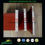 La película de Brown hizo frente a la tarjeta formada de bambú/a la madera contrachapada marina hecha frente la película de bambú del madera contrachapado/de bambú para la construcción