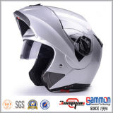 Flip МНОГОТОЧИЯ вверх по шлему мотоцикла с двойными забралами (LP508)