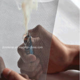 Schermo rivestito dell'insetto della vetroresina dello schermo della finestra della plastica invisibile della prova di incendio