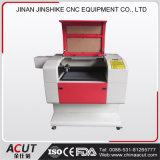 Mini tagliatrice dell'incisione del laser di CNC del tavolo per il metalloide
