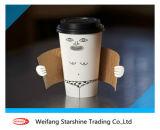 o papel revestido do PE 250g dobro para faz o copo de café