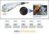 Elevador de face de 2017 4MHz/7.5MHz Hifu/preço profissionais da remoção enrugamento de Hifu