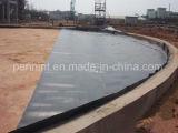 Hohe elastische blatt-Membranen-Teich-Zwischenlage des Schwarz-EPDM Gummiimprägniern