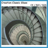 Heet Gebogen Glas - het Glas van de Kromming - Gebogen Glas (419mm, Aangemaakt)