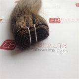 ブラジルのマレーシアのインドの二重毛のよこ糸