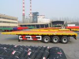 Single Point Suspension Flatbed Semi Trailer
