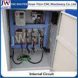 Mini router di CNC 6090 per la forma metallica molle che fa pubblicità al PVC acrilico