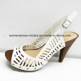 Nuevas sandalias calientes del alto talón de señora Fashion Women con la punta del pío