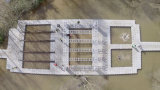 HDPE, das Plastikdock-sich hin- und herbewegenden Ponton für Verkauf schwimmt