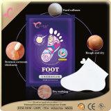 건조한 발을%s 발 가면을 습기를 공급하고 기른다