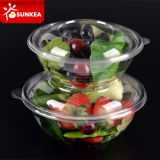 Wegwerfbares Clear Take Away Plastic Salad Bowl mit Lid