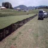 70GSM nero pp Woven Silt Fence