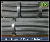 ステンレス鋼のオイルまたはガスのろ過のための編まれた金網のこし器