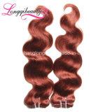 Unprocessed дешевая белокурая объемная волна волос Brazillian девственницы