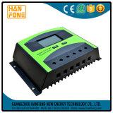 Controlador de sistemas solares cobrando rápido automóvel 12V ou 24V de 50A