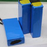 le pack batterie de mémoire d'ion de 24V 10ah 100ah Li pour le véhicule dans le tube de rétrécissement de la chaleur a enveloppé 12 Dzm-10 24V 10ah pour la bicyclette électrique