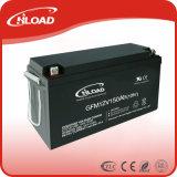 O CE aprova a bateria acidificada ao chumbo selada 12V 150ah de bateria recarregável