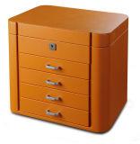 Lujo Nueva llegada cajas joyero de madera con hardware