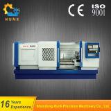 Mini torno del CNC de la venta caliente Ck6140, máquina horizontal Ck6140 del torno del CNC