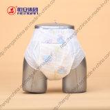 Couche-culotte jetable de bébé de sentiment de coton et d'absorptivité élevée