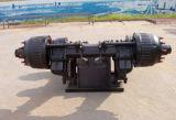 28 طن [سمي-تريلر] تعليق عربة منخفضة [ببو] نوع محور العجلة
